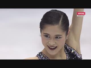 NHK Trophy 2018. Ladies - FS. Satoko MIYAHARA