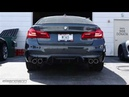 Eisenmann F90 M5 Exhaust System Race Version