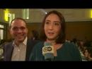 الأمير علي يمازح زوجته خلال لقاء تلفزيوني.mp4