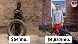 Kids At Every Income Level Were Asked To Show Their Favorite Toys,The Result Will Make You Think