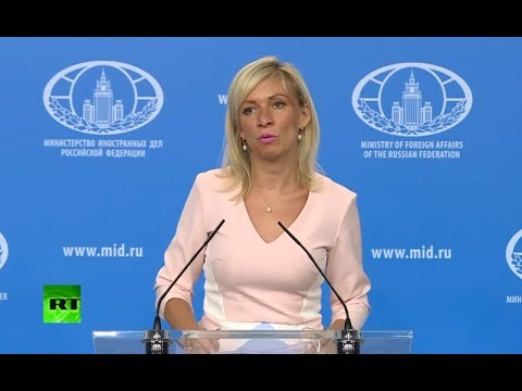 Russian Foreign Ministry news briefing (Streamed live)