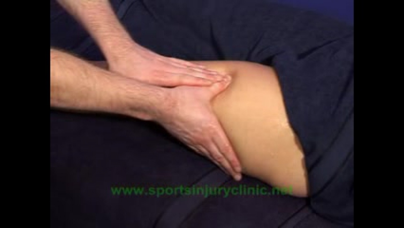 Sports Massage for the Front Thigh