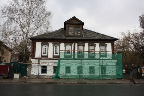 Реставрация дома.  30 апреля 2018