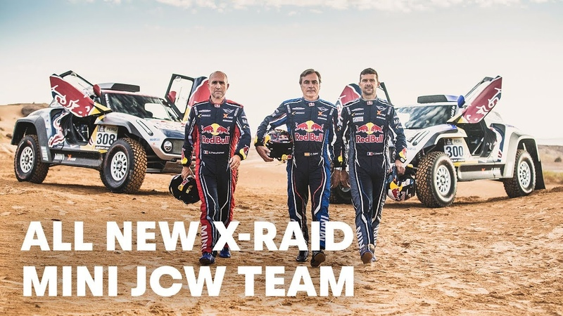 Get Revved Up With The New X-Raid MINI JCW Team | Dakar Rally 2019