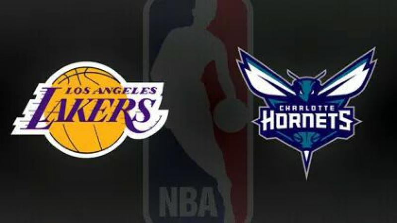 NBA 2017-2018 / RS / 09.12.2017 / Los Angeles Lakers @ Charlotte Hornets