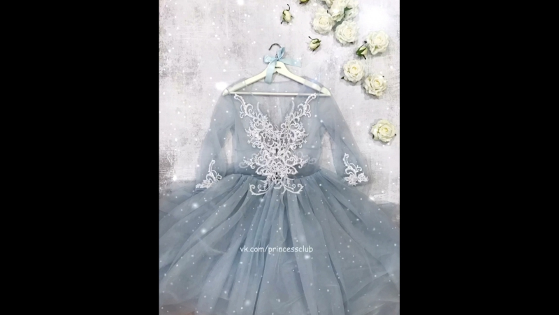 Будуарное платье для зимнего утра невесты❄️💍👗