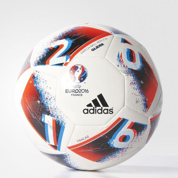 Футбольный мяч UEFA EURO 2016 Glider