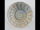 Декорирование керамики с помощью гончарного круга и глазури