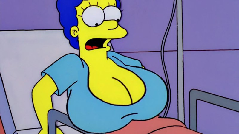 Hot Marge Simpson Cut - The Simpsons (S14E04)