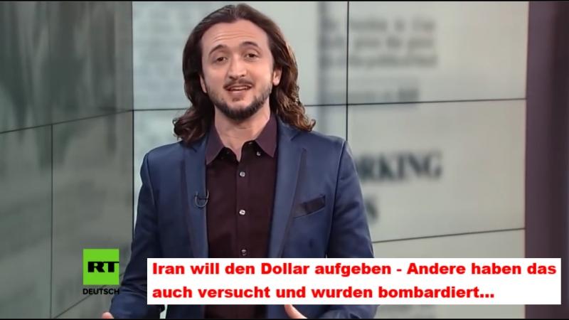 Iran will den Dollar aufgeben - Andere haben das auch versucht und wurden bombardiert...