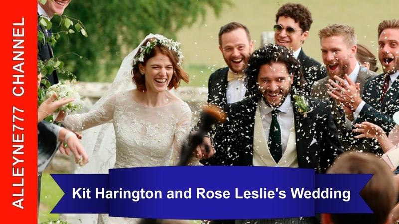 Kit Harington and Rose Leslies Wedding