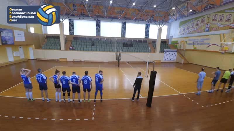 ПВП 2 0 Сбербанк 6 тур Сезон Осень 2018 Омская Корпоративная Волейбольная Лига ОКВЛ