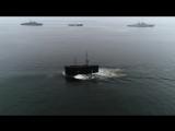 Всплытие подводной лодки