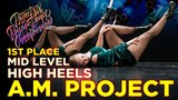 A.M. PROJECT, 1ST PLACE HIGH HEELS MID CREW