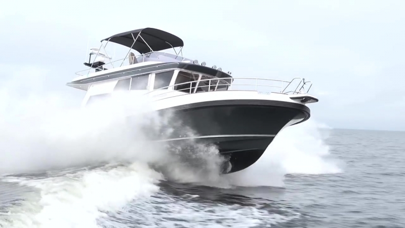 Морская яхта Nord Star 47 SCY – Semi Custom Yachts _ Cамый амбициозный проект Linex Boats OY