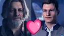 Detroit Become Human Connor Hank Good Ending Best Friends Ever ❤ Bromance