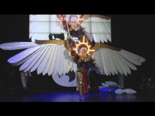 Cosplay Святая Целестина - Warhammer 40000 /Starcon 2018/
