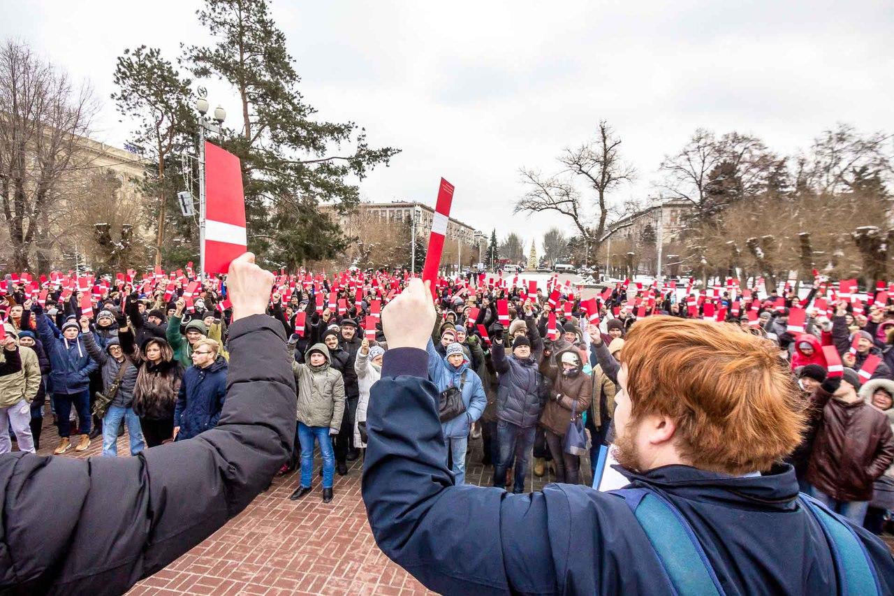 выдвижение Навального в президенты