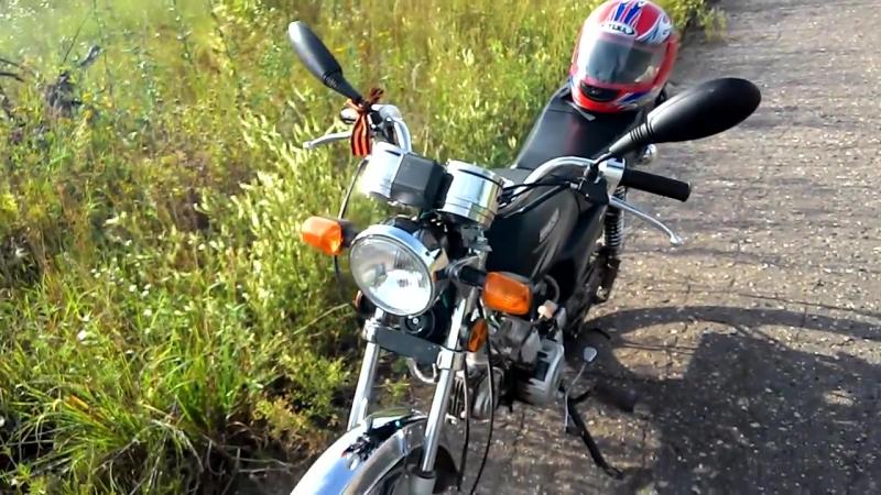 Racer Alpha Обзор мопеда Альфа Racer 50 72 cc