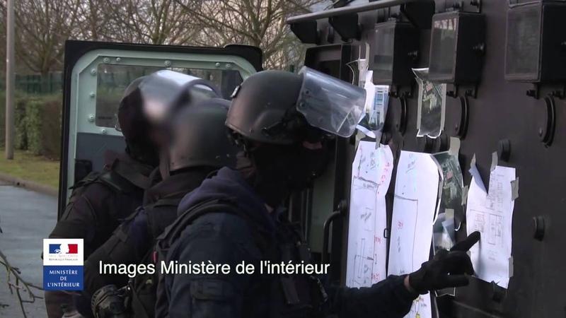 GIGN Dammartin Charlie Hebdo janvier january 2015