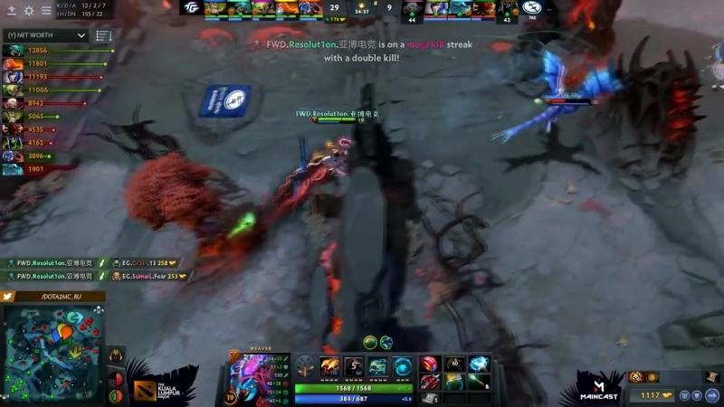 Dota 2 Stream 🔴ВСТРЕЧА СИЛЬНЕЙШИХ КОМАНД АМЕРИКИ EG vs Forward Gaming Kuala Lumpur Major North America