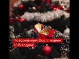 Новогоднее поздравление от