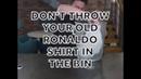 Fans Real Madrid Jangan buang Jersey Cr7 mu Real Madrid fans Don't throw your CR7 shirt away