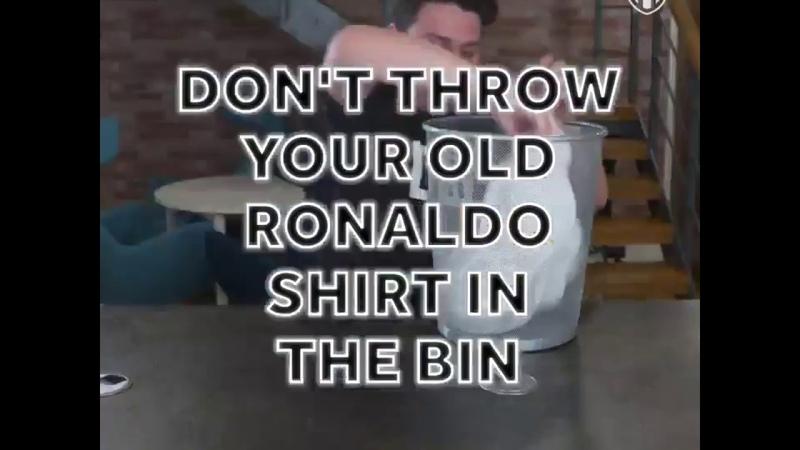 Fans Real Madrid? Jangan buang Jersey Cr7 mu Real Madrid fans? Don't throw your CR7 shirt away