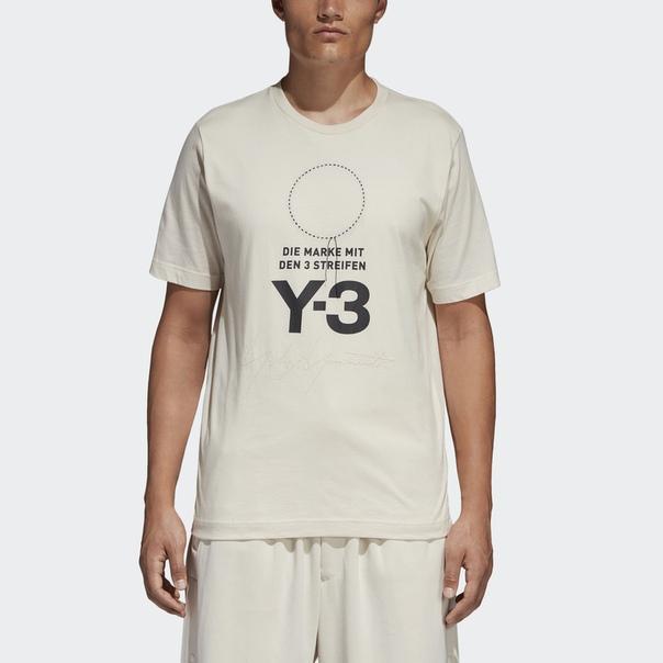 Футболка Y-3 Stacked Logo