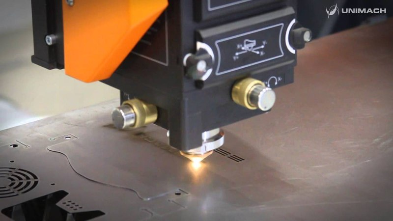 LaserCut Optima Резка тестовой детали гравировка вблизи