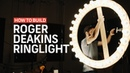 How To Make A ROGER DEAKINS RING LIGHT Cinematography Techniques