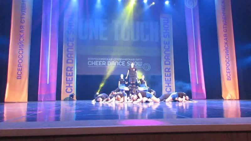 CHEER DANCE SHOW лига выступление One touch любительская съёмка