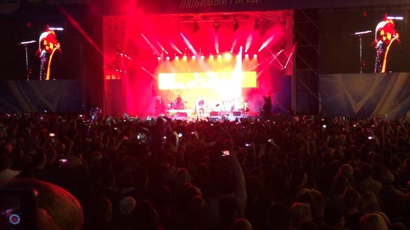 Концерт Би-2 на день города в Челябинске 💚🔥