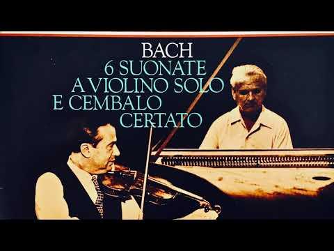 Bach - 6 Sonatas for Violin and Harpsichord (Century's recording : Szeryng/Walcha)