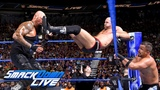 Gallows &amp Anderson vs. The Bar vs. The Colons - Triple Threat Match SmackDown LIVE, Aug. 28, 2018