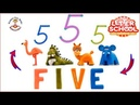 Letter School Numbers and Talking ABC Learn to write numbers 12345678910 Video for Preschoolers