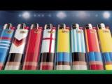 Кейс: лимитированная «футбольная» серия зажигалок BIC
