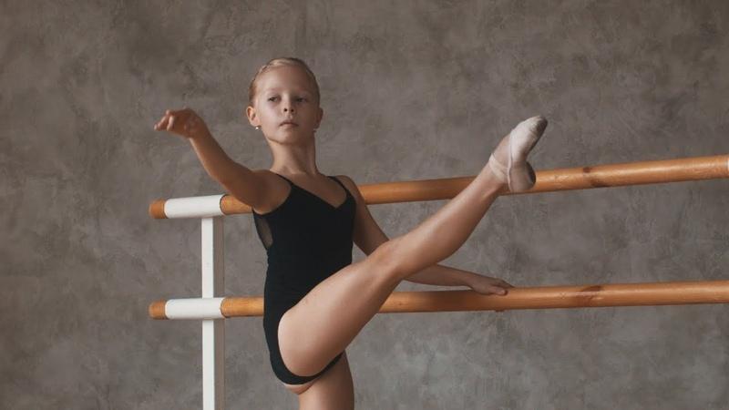 Ксения Третьякова. Классический танец. Экзерсис у станка