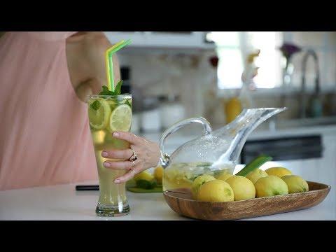 Անանուխով Կիտրոնով Սառը Թեյ - Lemon Mint Ice Tea - Heghineh Cooking Show in Armenian