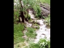 Водопад в г Чусовой Пермский край Последствия урагана 20 06 2018