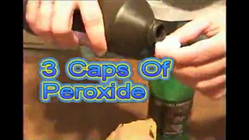 Маунтин Дью Пергидроль Сода=люминисцентный раствор