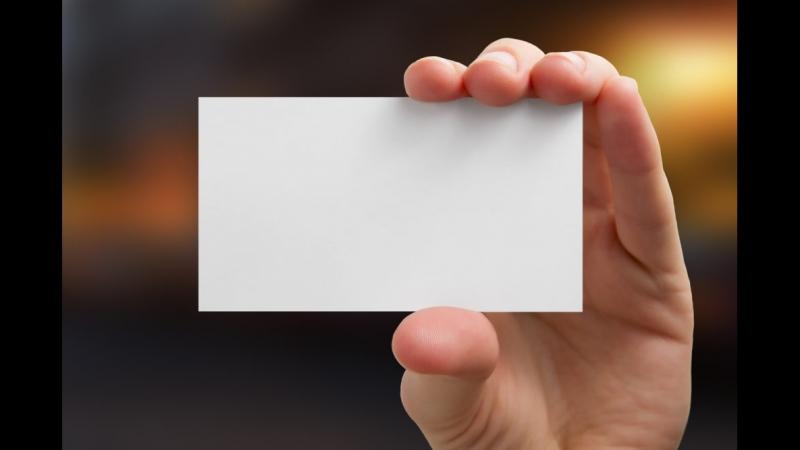 Верстка визиток для цифровой печати - pm-pechati.ru
