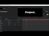 Smooth Text Animation In After Effects - After Effects Tutorial (Free Project File)