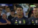 Удаление Роналду в дебютном матче Лиги чемпионов за «Ювентус»