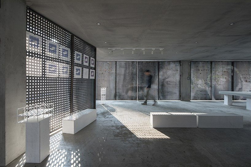 Benyuan design and research center builds le corbusier's 'dom-ino' house at UABB 2017