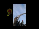 Новокузнецк, запуск белых шаров в память о погибших в пожаре