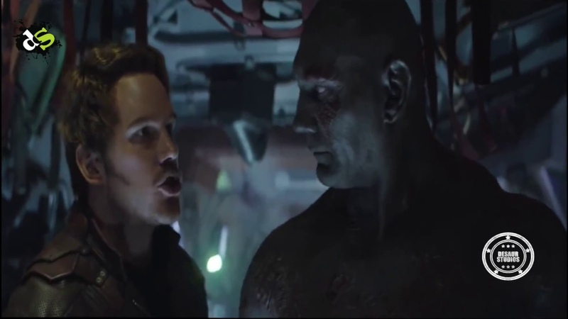 Avengers: Infinity War - Starlord Vs Drax Argument | Deleted Scene