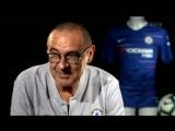 Первое интервью Маурицио Сарри в качестве главного тренера Челси (английские субтитры) vk.comCFCRussia
