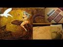 Красим обложку для кошелька Эксклюзивные изделия из кожи