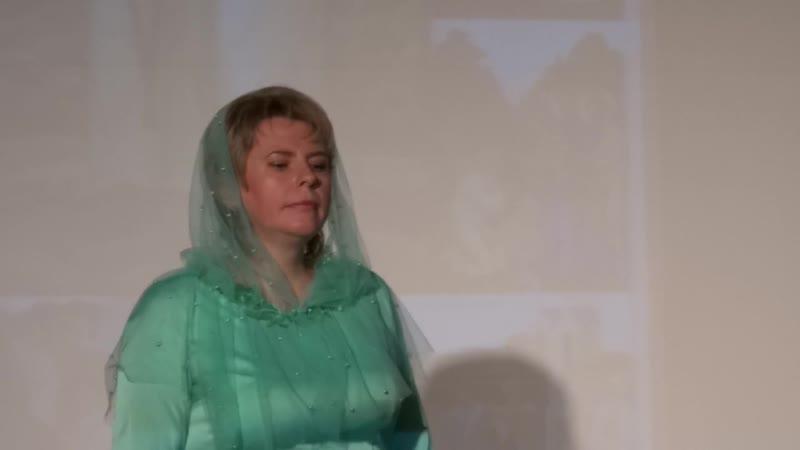 Лилия Евсеева Серафим Саровский ( Концерт в Александро-Невской Лавре 25.10.2018 г.)